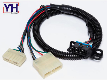 How to install wiring harness for car stereo ?