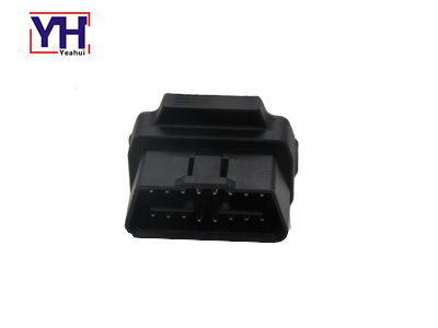 YH1006-2 J1962 24V OBDII Male Right Angle To Open Connector