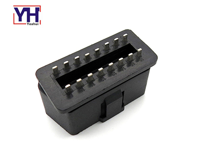 Lowest Profile OBDII Male Connector 24V