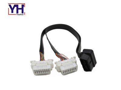 YH1010 OBD 16P Female Assembly With White Core