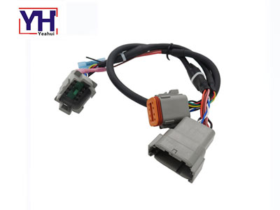 dt connector dt04-12PA to dt04-8PA and dt06-8SA connector diagnostic Y cable