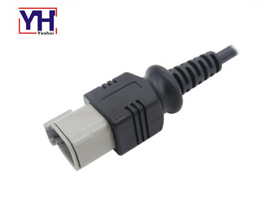 YHDTM04-6P 6Pin Female Deutsch Connector For Agricultural Machinery