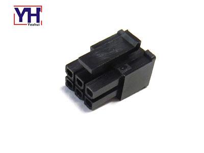 43025-0600 molex housing 3.0mm pitch dual row 6pin female connector