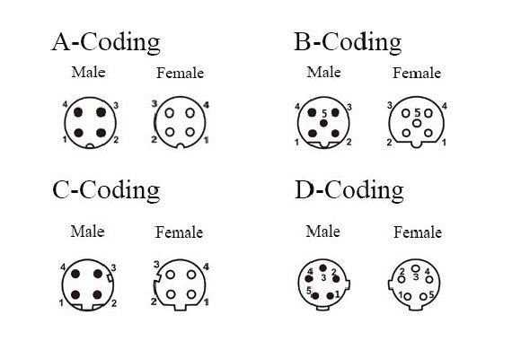 Common Types of M12 Coding