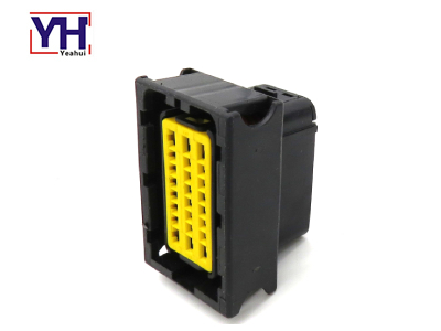 YH3010 ECU 24pin Electrical Socket Automotive Connector For Aftermarket