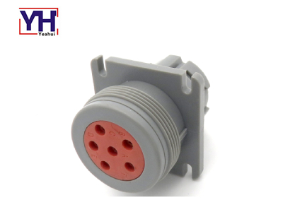 YH6003 Truck Trailer Connector J1708 CAN BUS Diagnostic Unit 6-Way Round Plug