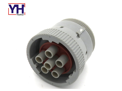 YH6005 J1708 Buchse Heavy Duty Deutsch 6P Sockel für Dieselmotor