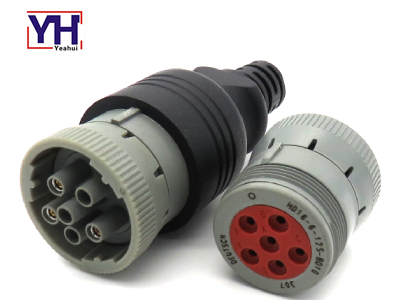 YH6008 Heavy Duty Deutsch 6pin Socket Used For Diagnostics Vehicle Components