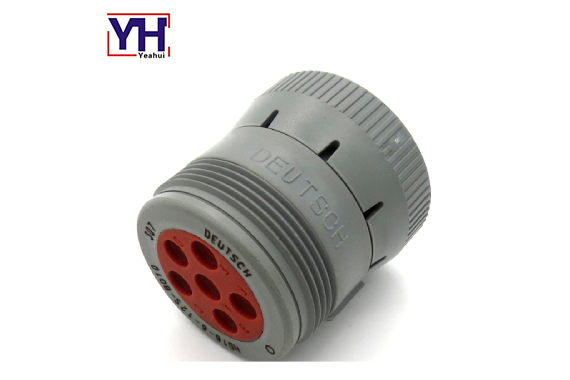 heavy duty Deuctsch 6pin socket