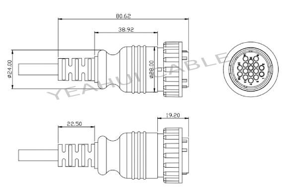 cpc connector socket