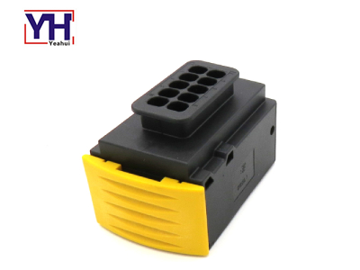 YHTE1718156-1 ECU 10pin Female Black Connector With Industrial Automation