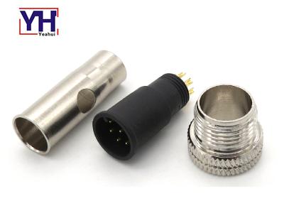 M12AM08713763SH M12 8pin الذكور جولة موصل لقياس تدفق الوقود