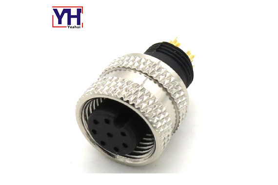m12 8 pin female connector