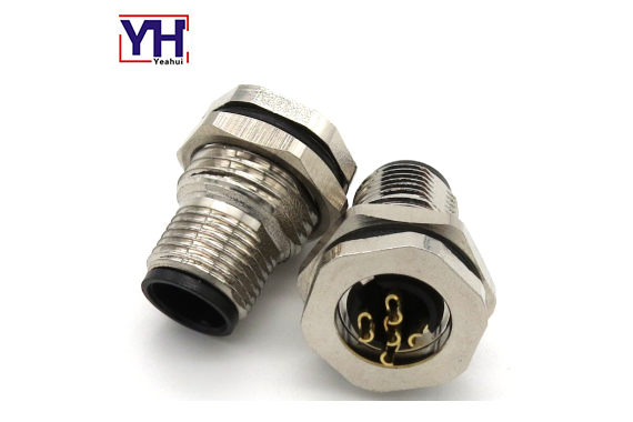 M12 5pin male connector without shield