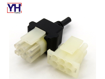 YHTE350715-4 6pin Female Marine Connector Plug With White Core
