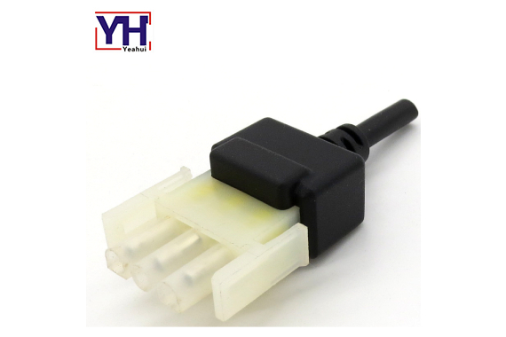 3pin female electrical connector