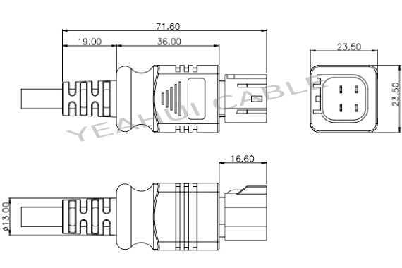marine electrical wire connectors