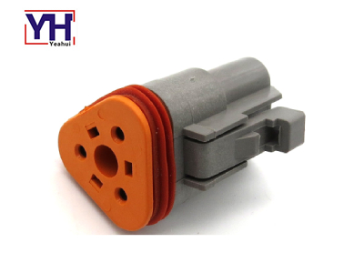 YHDT06-3S Deutsch 3Pin Female Connector For Mobile Construction Equipmen