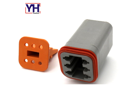 Deutsch 6pin female connector