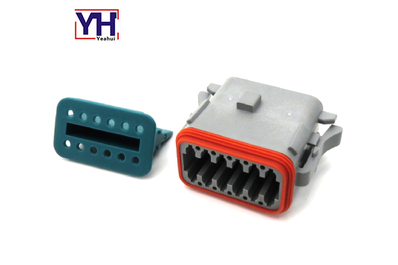12 Pin Female Agriculture Electrical Connector