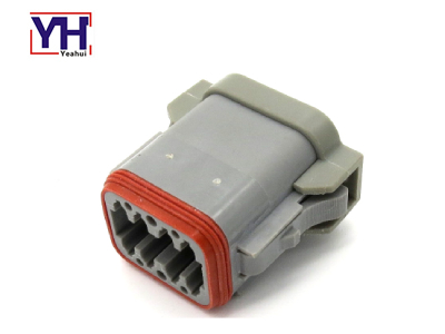 YHDT06-8SA Deutsch 8pin Grey Connector For Medical Agriculture Car industry