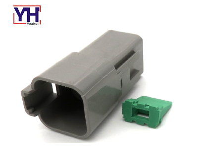 YHDT04-4P Deutsch 4pin Male Agriculture Electrical Connector for Agricultural Tractors And Machinery