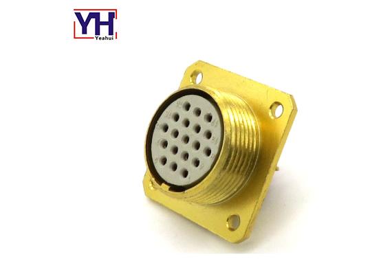 circular waterproof male connector