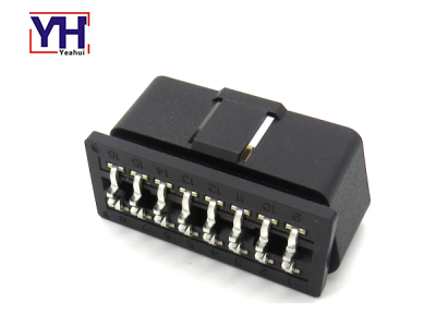 YH1007 OBD 16P Male For PCB And Enclosure