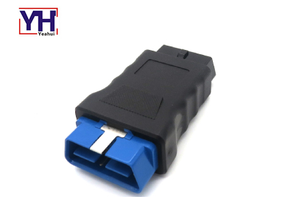 YH1013 24V 16pin Male to Female Connector OBD2 Diagnostic Adapter