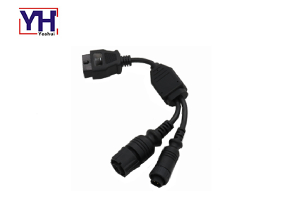 YH2056 4pin Male Terminals Connector With Phosphor Bronze Pre-Tin