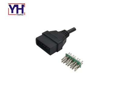 YH2005 Customized vehicle 14pin male auto connectors for honda nissan
