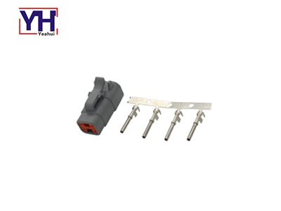YHDTM06-4S agriculture electrical connector for agricultural machinery machine