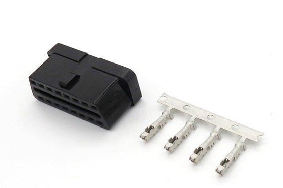 The five crimp connection method of automotive connectors