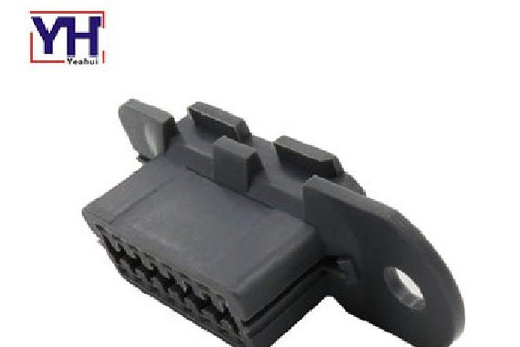 OEM obd housing 16 pin obdii obd2 female connector for diagnostic tool
