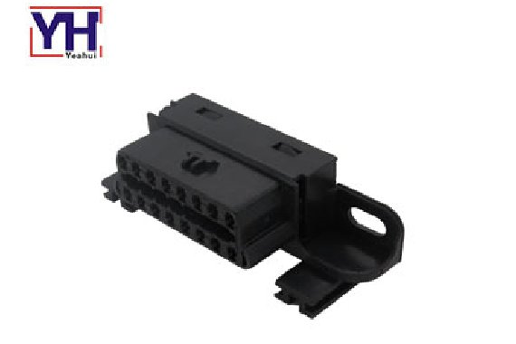 Custom auto 12v 24v Obd Case Female Obdii Obd2 Diagnostic Connector