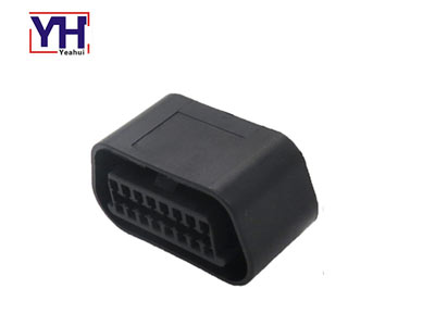 YH1041 16 pin 12v Obd2 Female Obdii Connector
