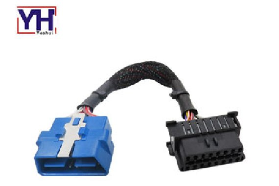 YH1002 to YH1015 OBD 16P male 24V to OBD 16P female Wiring Harness For OBD-CAN Programming Tool