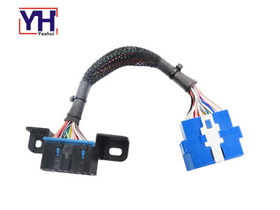 YH1002 to YH1009 male to female 16pin obdii diagnostic extension cable