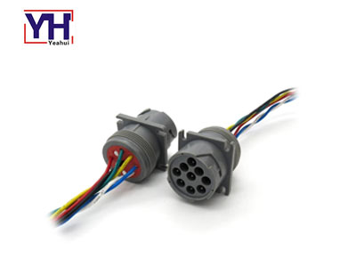 HD10 9 96P deutsch connector for assembling pvc molded wire harness