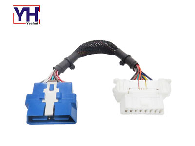 YH1002 to YH1010 obd male to white female cable for auto diagnostic tools