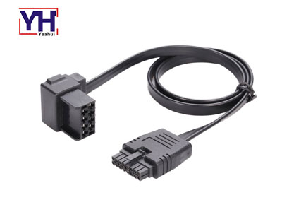 volvo connector 8 pin female to 16 ping housing auto cable