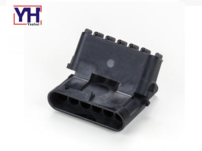 Delphi original connector 12010975 Delphi 6 pin black male electrical Connector