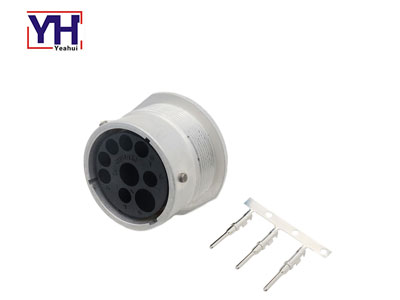 metal 9 pin male iso Bus connector iso11783-2