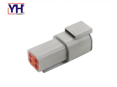 YHDTM04-4PDeutsch 4Pin Female Connector for Agricultural Machinery