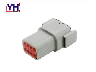 YHDTM04-08PA 8pin Male Agriculture Electrical Connector According To Amphenol
