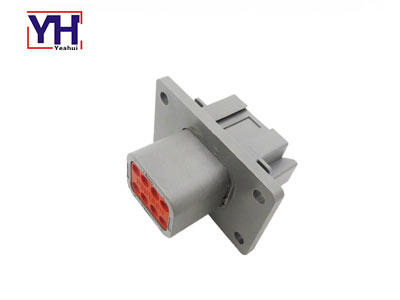 YHDTM04-08PA-L012 8pin Male Agriculture Electrical Connector According To Amphenol