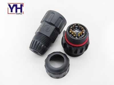 Molding cable assembly M25 12 pin male waterproof circular connector
