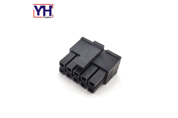3.0mm Pitch molex housing 10 pin female connector