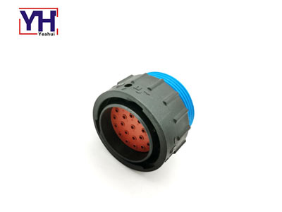 Waterproof deutsch automotive 23 pin male connector amphenol AHDP06-24-23PR-WTA
