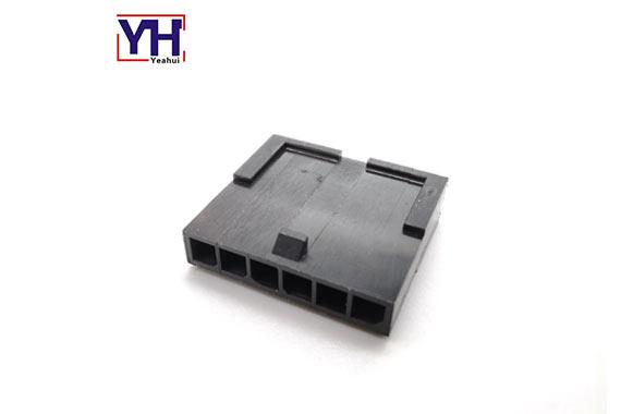 Waterproof single row 6pin male connector 3.0mm pitch Molex housing 436400611